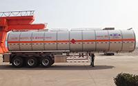 Aluminum Alloy Chemical Tank Trailer